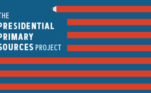 Presidential Primary Sources Project logo