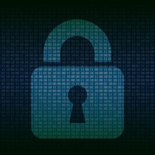 padlock over code