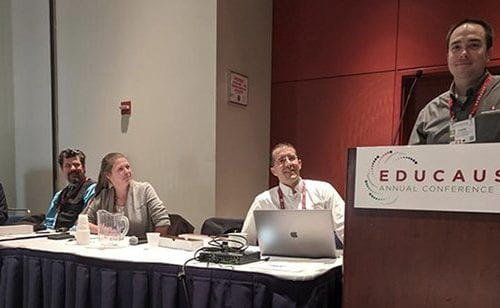 Security presentation at EDUCAUSE 2019
