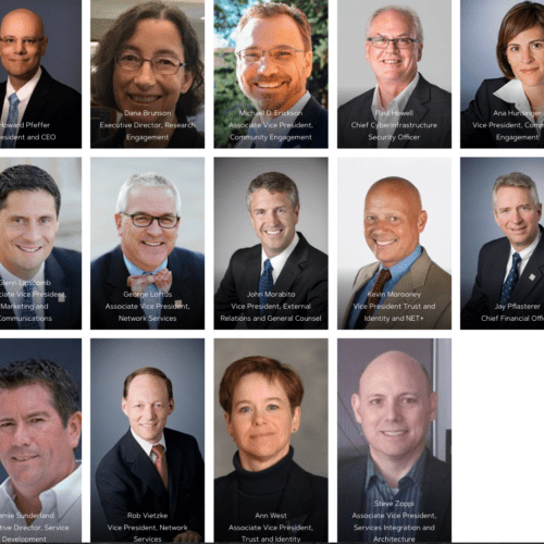 Internet2 executive leadership